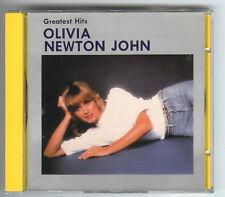 CD OLIVIA NEWTON-JOHN Greatest Hits Singapore KCTA – CTAT-3008 Ltd. Edition rar