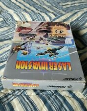 NINTENDO NES LASER INVASION ORIGINAL  BOX ONLY!!! (No game or manual included)