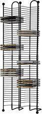 100 Cd Tower Storage Media Rack Shelf Stand Organizer Multimedia Holder - New