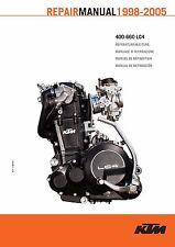 KTM Service Workshop Shop Repair Manual Book 2004 640 LC4 ADVENTURE