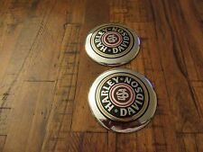 Harley Davidson Gas Tank Emblems Chrome,Black and Red