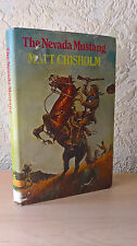 The Nevada Mustang (Blade Westerns Series #8), Matt Chisholm, 1983 [Hardback]
