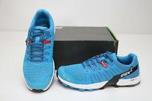 New Inov-8 RocLite 290 Men's Trail Running Shoes Standard Fit 8 Blue Black White