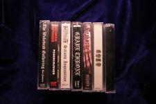 6 Black Metal Thrash Metal cassette tape lot WYTCHKRAFT WAKEDEAD GATHERING EMIT
