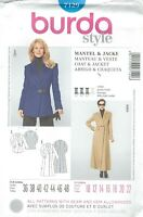 burda 7129 Misses' Coat and Jacket 10 to 22   Sewing Pattern