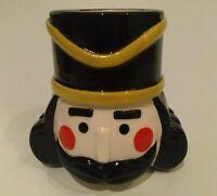 "Sculpted xmas mug Nutcracker 3d classic NEW by ZAK designs 4"" tall"