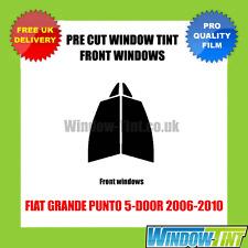 FIAT GRANDE PUNTO 5-DOOR 2006-2010 FRONT PRE CUT WINDOW TINT