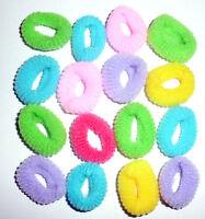Haargummis Zopfgummi Gummis Zopfhalter HAARGUMMI 15 Stück ca 2,5 cm gemischt