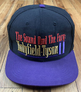 Vintage Holyfield-Tyson II SnapBack Hat The Sound And The Fury MGM 1997