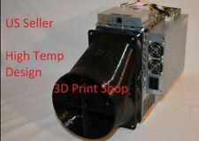 """Antminer E3 8"""" Double Fan Duct Shroud"""