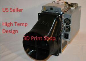 """Antminer E3 6"""" Double Fan Duct Shroud"""