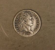 1810A France 1/2 Franc, Great Details, Old Cleaning    ** FREE U.S. SHIPPING **