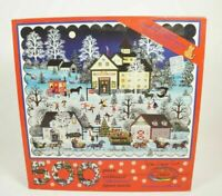 "Ceaco Jane Wooster Scott "" Christmas Traffic Jam "" 500 Piece Puzzle"