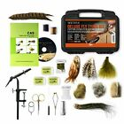 Deluxe Fly Tying Kit with Book and Dvd. This Is Our Most Popular Fly Tying