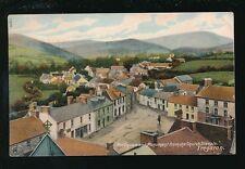 Wales Cardiganshire TREGARON Square Monument 1909 PPC very fine duplex pmk
