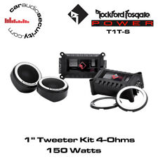 "Potencia Rockford FOSGATE T1T-S 1 ""tweeter Kit auto Tweeters"