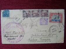 US TO AUSTRIA / ZEPPELIN FIRST ROUND THE WORLD / 1930