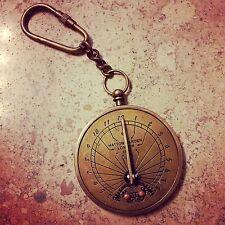 key chain keychain Antique Bronze Hot Sale Sundial pocket watch pocketwatch