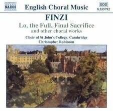 Gerald Finzi - Lo, the Full, Final Sacrifice and Other Choral Works