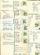 Bad Hersfeld 14 x Ganzsache Bedarfserhaltung stampsdealer