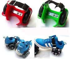 Street Rollers Flashing Wheels Lighted Heel Skate Wheeled Shoes Pulley Sporting