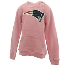 New England Patriots Kids Youth Girls Size NFL Official Hooded Sweatshirt New