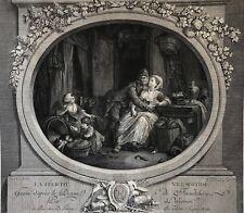 La Félicité Villageoise Jean-Louis Delignon (1755-1804)  Freudeberg (1745-1801)