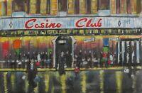 "Northern Soul; Northern Soul Painting; Wigan Casino; ""Casino Club, '74"""