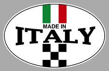 MADE IN ITALY ITALIE FIAT 500 ABARTH 12cm AUTOCOLLANT STICKER AUTO MOTO MB037