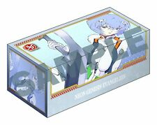 Newtype 30th Evangelion Rei Ayanami Card Game Character Deck Storage Box Anime