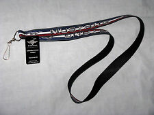 Ford Mustang lanyard for ID cards, keys etc. Stretchable. Great gift!
