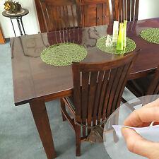 100cm Largeur Nappe de table Film pour protection 2mm transparent