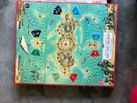 BOARD & BOX ONLY-MB American Heritage Hit the Beach-Very Good Board