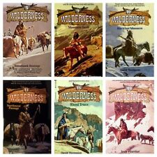 Choose ANY 5 WILDERNESS Series Books by David Thompson WESTERN Paperbacks *NEW*