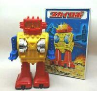 S.H Horikawa Toy Sky Robot Vintage 1960's Made in Japan Tin Showa Retro Yellow