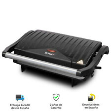 Sandwichera, plancha eléctrica de 750W, 23cm x 14cm - Antiadherente alta calidad