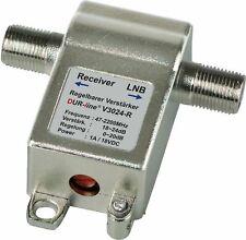 SAT Inline Verstärker V3024-r regelbar Von DUR-line V3024 bis 24db