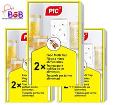 Nouvelle annonce Paquet Triple 6 pièges Anti Mites Piège à phéromones, Anti mite Alimentaire
