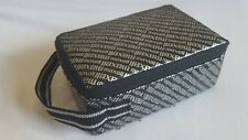 Maxell audio cassette carrying bag/pouch. 80's/90's. Black.