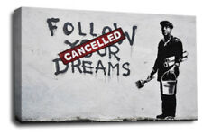 Banksy Black Reproduction Art Prints