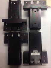 Steel 4x4 Straight Elevator Brackets. Playground/Building Brackets.  Loc Style B