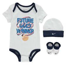 Nike Bebé Future Gold Medal Winner Set Gorra Botines Hat Azul Blanco 6-12 Meses