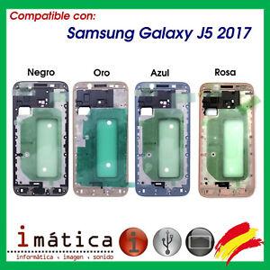 Cadre Châssis Pour Samsung Galaxy J5 2017 J530 Noir Or Bleu Intermédiaire Centre