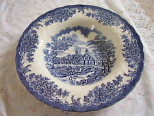 Myott Meakin  England  porcelain blue and white deep plate-dish,