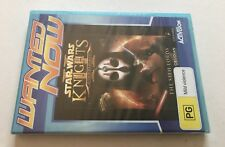 Star Wars Knights of the Old Republic 2 PC CD-ROM New Sealed Wanted Now Edition