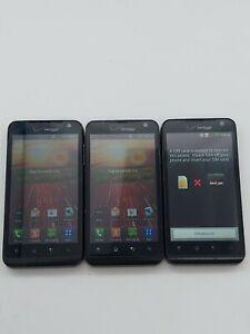 Lot of 3 LG Revolution VS910 Verizon 8GB Black *Check IMEI*