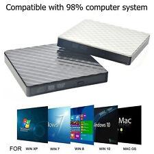 Grabadora de discos delgada externa USB 3.0 DVD RW CD Writer para PC portátil