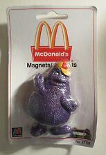 Vintage McDonalds Grimace Magnet MOC