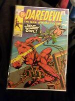 Daredevil #80 VF Condition Marvel Comics 1964 Series (The Owl)
