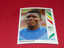 513 KOSSI AGASSA TOGO PANINI FOOTBALL GERMANY 2006 WM FIFA WORLD